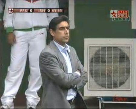 Iranian coach, Afshin Ghotbi
