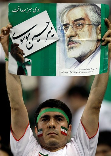 APTOPIX Iran World Cup Soccer Election