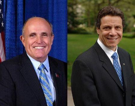 Giuliani and Cuomo